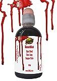 Kunstblut 100ml Halloween hautfarben Latex fakeblood Make up Blut Horror Schminke