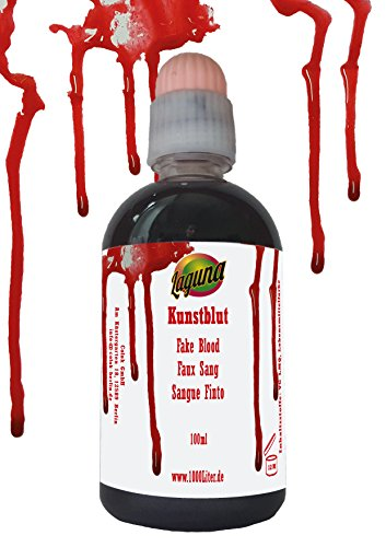 100 ML di sangue finto Halloween hautfarben Lattice fakeblood Make Up Sangue Horror schminke