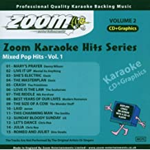 Zoom Karaoke CD+G - Karaoke Hits 2: Mixed Pop Hits 1