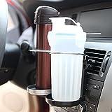 Gezichta - Porte-gobelet - Avec pince à ressorts - Portable - Porte-boissons pour voiture - Pliable - Multifonctions - Accessoire de voiture, aléatoire