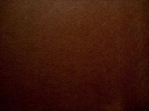 StoffBook DUNKELBRAUN STABILER BASTELFILZ TASCHENFILZ STOFF CA. 5MM STOFFE, B530