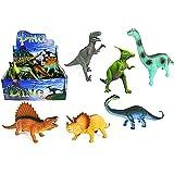 N$B DINO LAND Große Dinosaurier Spielfiguren im Fünferset, sortiert, mind. 20 cm