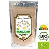 Maca Poudre 1 kg Biologique Aliment superbe de qualité prime, Convient aux végétariens et aux végétaliens Riche en vitamine B1, B2, B6, calcium, fer et zinc Certifié Biologique par Sana Versand