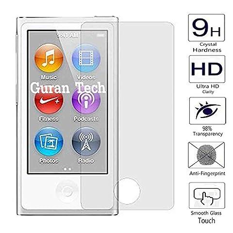 Guran® Glass Protector pour Apple iPod Nano (7. Generation) Smartphone Screen Verre Trempé Protecteur d'écran Résistant aux