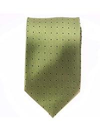 Seidenkrawatte Krawatte grün 8 cm breite 100 % Seide verschiedene Modelle
