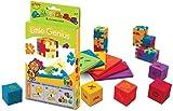 Happy 11166 - Little Genius 6-pack cardboardbox, 3D-Puzzlewürfel mit einfachem Schwierigkeitsgrad, 6 Stück