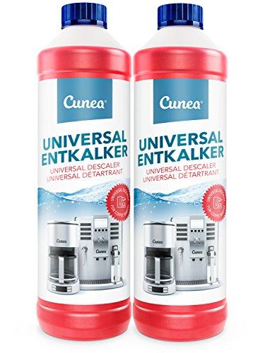 Entkalker & Kalklöser für Kaffemaschine Kaffeevollautomat Kaffeepadmaschine - 2 x 750ml universell...