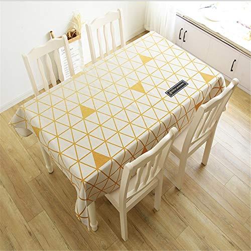 hhlwl Baumwolle Und Leinen Geometrische Tischdecke Rechteckigen Esstisch Isolierung Abdeckung Tuch Zu Hause Party Dekoration, 70 X 180Cm
