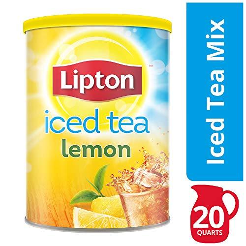 Lipton Iced Tea Natural Lemon Makes 20 Quarts. 1.5kg