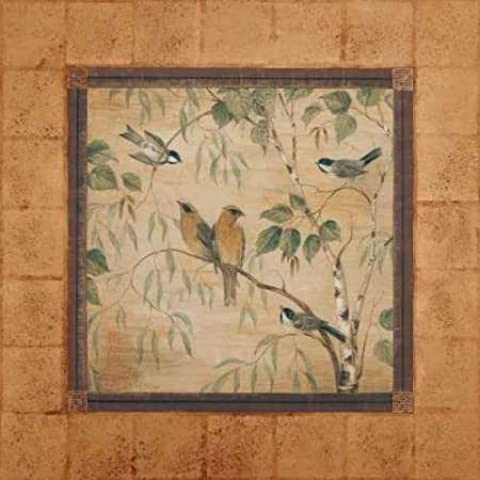 Feeling at home, Stampa artistica x cornice - quadro, fine art print, Outdoor Aviary II cm 94x94