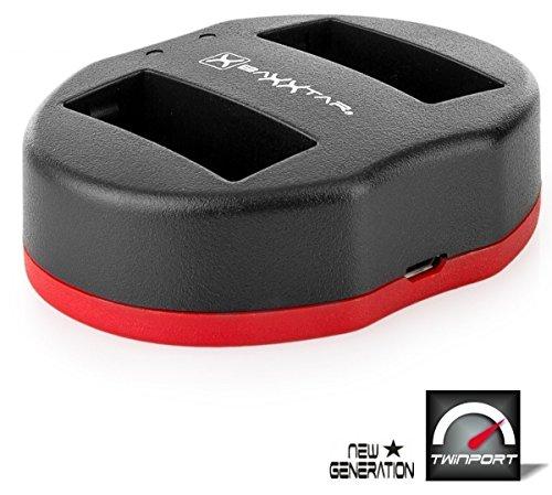Baxxtar USB Dual Ladegerät Twin Port 1820/2 für Akku Canon LP-E8 zu Canon EOS 550D 600D 650D 700D