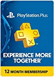 Sony PlayStation Plus Card for PS4/PS3/PS-Vita (1 - Year)