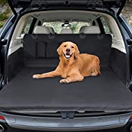 Car Boot Liner Protector,Winipet Universal Waterproof Boot Protector Mat Dogs Pet Dog Cat Cover Mat Trunk Dog Blanket Car Protective Cover with Side Protection, 180x103 cm Anti-Slip/ Scratch/ Dust / Hair for Car Van and SUV Trucks