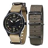 AVI-8 -Reloj militar automático, estilo aviador, de hombre, inspirado en el avión inglés The...