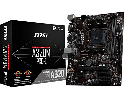 MSI A320M Pro-E - Placa Base Chipset AMD A320