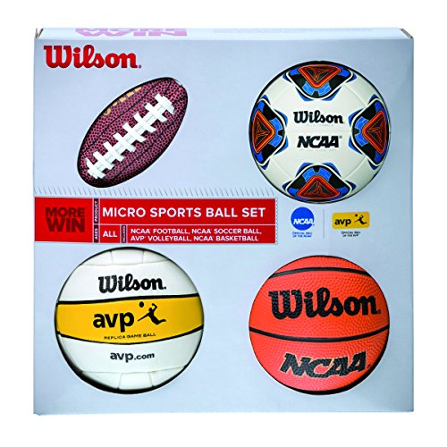 WILSON Micro Sports 4BALL KIT Basketball, Various