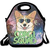 Corgi Squad Corgi Tragetasche mit Sonnenbrille, wiederverwendbar, Picknick, Lunchboxen für Kinder und Erwachsene preisvergleich bei kinderzimmerdekopreise.eu