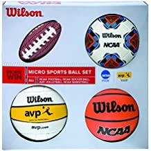 Wilson Micro Sports - Set de mini pelotas, color multicolor, talla única