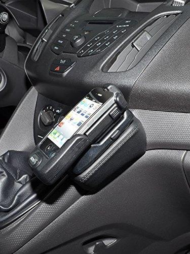 KUDA 1375 Halterung Kunstleder schwarz für Ford Transit Connect ab 12/2013 (nur Gangschaltung) -