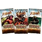 3 (Three) Packs of Magic the Gathering - MTG: Zendikar Booster Pack Lot [Toy]