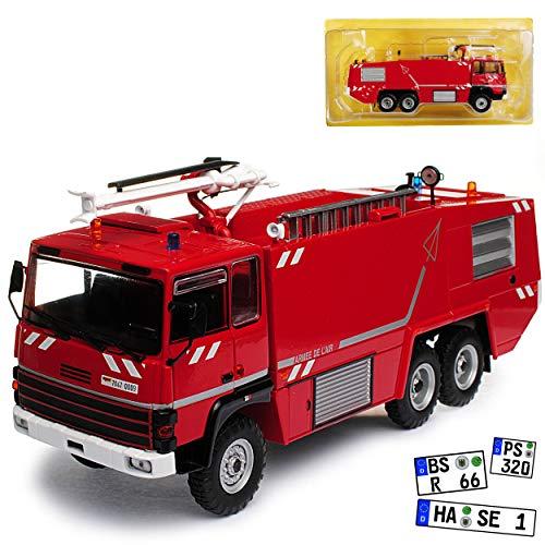 Atlas Thomas VMA 72 Löschfahrzeug Feuerwehr Rot 1/43 Modell Auto mit individiuellem Wunschkennzeichen (Thomas-modell)