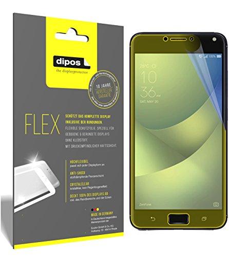 dipos I 3X Schutzfolie 100% passend für Asus Zenfone 4 Max 5,5 Zoll ZC554KL Folie (Vollständige Displayabdeckung) Displayschutzfolie