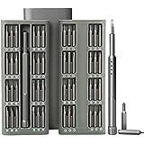 E·Durable 48 en 1 Tournevis de Précision Professionnels Magnetic Aluminum Mobile Repair pour iPhone, macbook pro,xiaomi, iPad, PC, appareils photo, jouets électroniques, montres