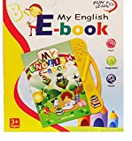 #3: IFRAZON English E-Book/ Smart Book for Kids, Music Learning Toy for Child ( Color May Vary)
