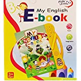 IFRAZON English E-Book/ Smart Book For Kids, Music Learning Toy For Child ( Color May Vary)