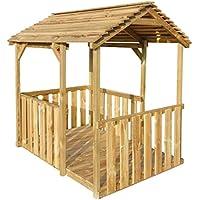 tidyard Casa de Verano para Niños,Casa de Juegos de Jardín,Carpa de Jardín