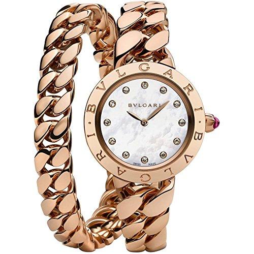 Bvlgari Bulgari Reloj de mujer diamante cuarzo 31mm 102052 BBCP31WGG.2T/12