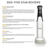 from Masha Masha | Immersion Hand Blender | Best Electric Potato Masher & Baby Food Processor | Perfectly Blends & Purees Vegetables