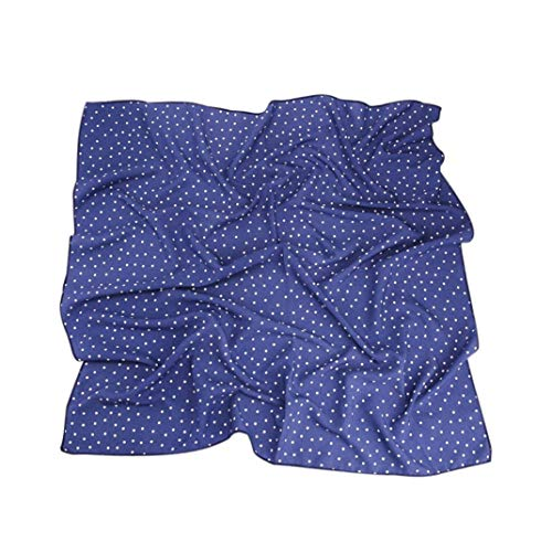 Frauen quadratisches Haar Schal Retro Plaid beiläufiges Halstuch Handtaschen Zubehör (Seide Schal Handtasche)