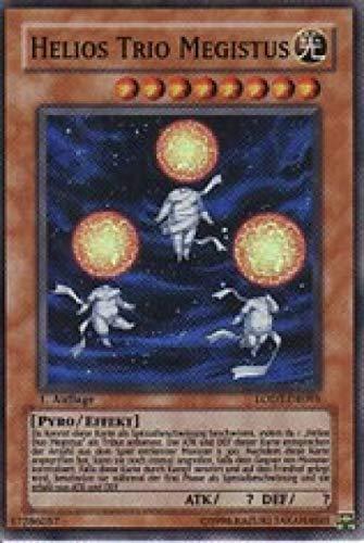 Konami LODT-DE095 Helios Trio Megistus (SUPER Rare) 1. Auflage
