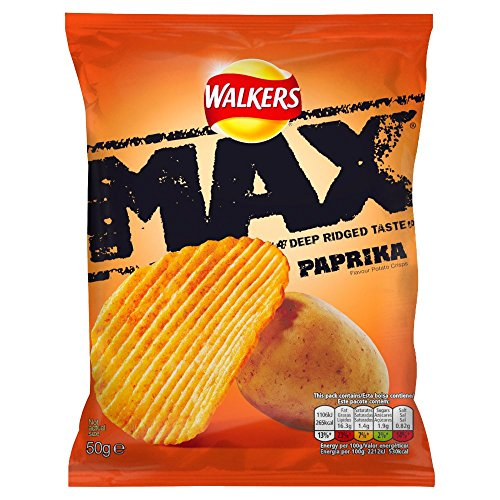 walkers-max-ridged-paprika-crisps-50-g-pack-of-24