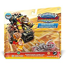 Figurine Skylanders : Superchargers - Dual Pack - Turbo Charge Donkey Kong + Barrel Blaster