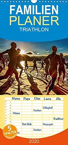 TRIATHLON - Familienplaner hoch (Wandkalender 2020 , 21 cm x 45 cm, hoch): Triathlon Kalender 2016 (Monatskalender, 14 Seiten ) (CALVENDO Sport)
