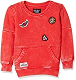 Gini & Jony Boys' Sweatshirt (121246517267 C457_FIERY RED(C457)_10)