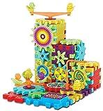 OFKPO Kreatives Zahnrad Spielzeug,Konstruktionsspielzeug mit Elektrische Rotary Gear,pädagogisches Spielzeug für Kinder