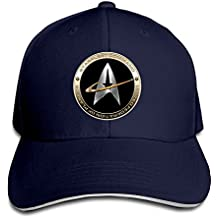 Hittings NEVA Star Trek 50 Adult Baseball Cap Snapback Hats Hip Hop Flat Hat Navy
