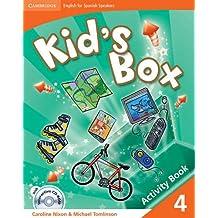 Kid's Box for Spanish Speakers  4 Activity Book with CD-ROM and Language Portfolio - 9788483239377
