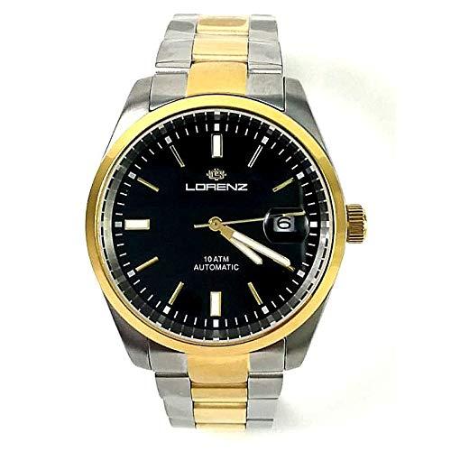 Lorenz Ginevra 030135BB - Reloj automático con correa bicolor