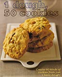 1=50!: 1 Dough 50 Cookies - Love Food by Linda Doeser (1-May-2008) Hardcover
