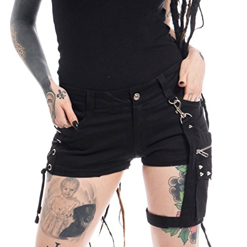 Vixxsin Shorts mit Beintasche - Naoko Hot Pants (M)