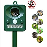 Animal Pest Repellent, LAIER Effective Solar Battery Powered Outdoor Ultrasonic Pest and Animal Repellent, Pest and Animal Control Rodent
