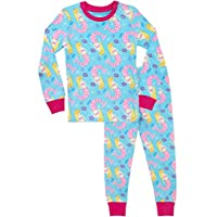 Harry Bear Girls Mermaid Pyjamas Snuggle Fit Blue Age 10 to 11 Years