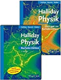 Halliday Physik Bachelor Deluxe: Lehrbuch mit Lösungsband - David Halliday, Robert Resnick, Jearl Walker
