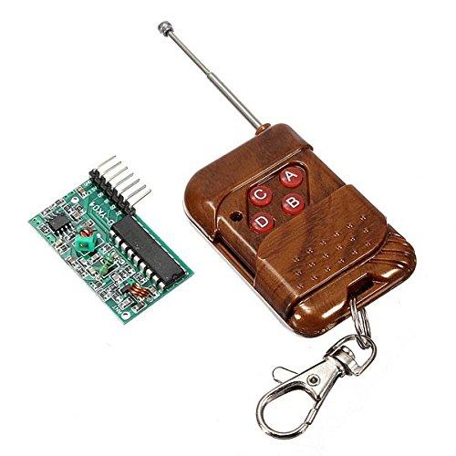 Ils - 4 Canales de RF inalámbrico de Control Remoto del Receptor del transmisor del Módulo