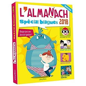 L'almanach 2018 des blagues