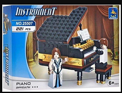INGENIOUS Juguetes RARO PIANO DE COLA CON REPRODUCTOR & cantante música CREATOR / 221pcs Bloques de construcción Set construcción #25507